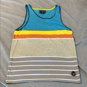 Billabong Striped Tank Top